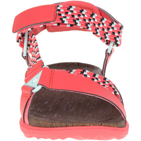 Merrell Around Town Sunvue Woven Sandals Dame hot coral